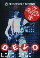 Devo: Live 1980 [DualDisc] (2005, DVD NUOVO) (REGIONE 0)