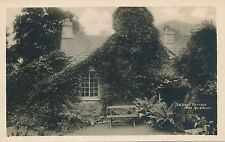 GRASMERE – Dove Cottage From the Garden–Wadsworth's Home Real Photo PC – England