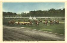 RCMP Royal Canadian Mounted Police Musical Ride Postcard