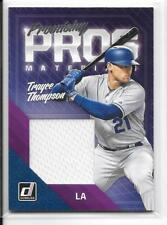 2018 Donruss Trayce Thompson Los Angeles Dodgers Promising Pros material jersey
