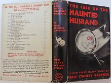 ERLE STANLEY GARDNER The Case of the Haunted Husband FIRST EDITION