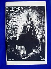 Etcetera vol 2 #3: US fanzine 1973. Paul Levitz, Paul Kupperberg