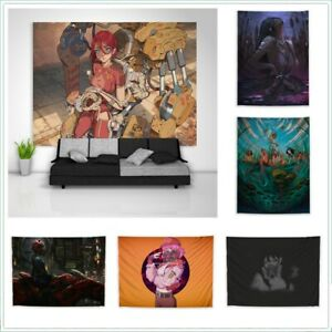 Anime Painting Trippy Tapestry Art Wall Poster Hanging Cover