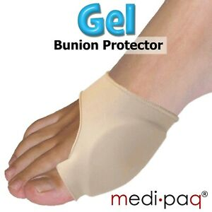 Gel Bunion Protector Toe Corrector Support Foot Gout Blister Pain Relief Pads UK