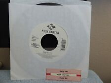 NICK CARTER  help me / same  JIVE   JUKEBOX TITLE STRIP  45