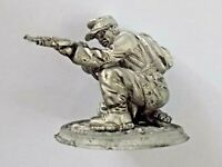 "1/32 German WWII Sniper Tin Metal Soldier HANDMADE 54mm 2.1"" NEW"