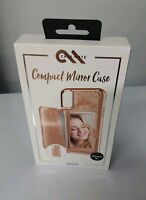 iPhone X or Xs Phone Case Compact Mirror ROSE GOLD Wallet NEW CaseMate