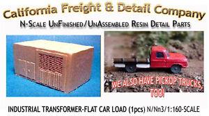CAL Freight & Details Industrial Transformer - Flat Car Load N/1;160
