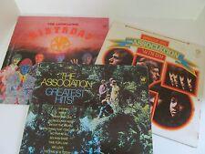 The Association lot of 3 LPs ~  vinyl LP record albums