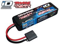 Traxxas 2843X 7.4V 2S 5800mAh LiPo iD Battery - Rustler Bandit VXL Stampede 4x4