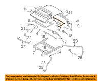 MERCEDES OEM 08-14 C300 Sunroof Moon Roof-Motor 2048201442