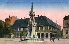 Germany AK Halberstadt - Kriegerdenkmal old postcard
