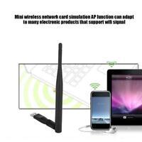 For Ralink Mini USB Wireless 802.11B/G/N LAN Card WiFi Network Adapter RT5370
