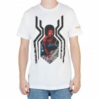 Marvel Spiderman Homecoming White T-Shirt - Officially Licensed - NEW