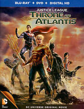 Justice League: Throne of Atlantis (Blu- Blu-ray