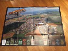 Summer Breeze Plakat Luftaufnahme 2012 ORIGINAL und NEU