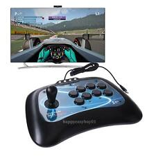 USB Flighting Stick Arcade Joystick Gamepad Game Controller for PS3 PC Android