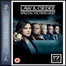 LAW AND ORDER - SPECIAL VICTIMS UNIT - COMPLETE SEASON 17  *BRAND NEW DVD *