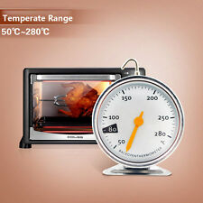 Hanging Stainless Steel Oven Cooker Thermometer Temperature Gauge Baking Cooking