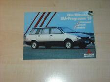 44261) Mitsubishi Galant - L300 Pajero - aktuell - Prospekt 02/1985