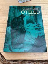 Otello in Full Score (Dover Music Scores) by Verdi, Giuseppe