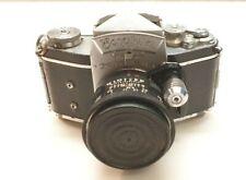 D2) Exakta Ihagee Dresden vintage Camera mit Berolina-Westromat 1:2.8 /35