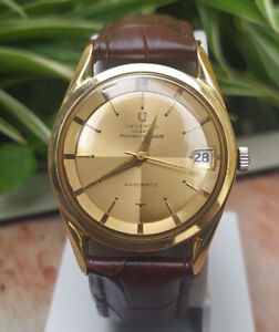 UNIVERSAL GENEVE POLEROUTER AUTOMATIC  DATE CAL 218-2