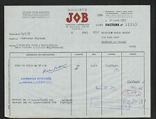"""PERPIGNAN (66) PAPIERS à CIGARETES JOB """"P. BARDOU & J.Z. PAUILHAC"""" en 1957"""