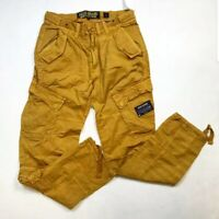 AKOO SOLID CARGO 8 POCKET MENS WHEAT COLOR HUNTING PANTS 100% AUTHENTIC