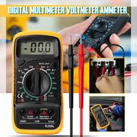 Held Digital Multimeter AC/DC Voltmeter Ammeter Ohmmeter Resistance Volt Tester