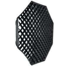 US Godox Octagon 140cm Grid Honeycomb Softbox + Bowens Mount Speedring for Flash