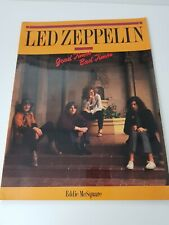 Led Zeppelin Good Times Bad Times Paperback
