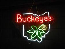 "Ohio State Neon Lamp Sign 20""x16"" Bar Light Beer Glass Windows Display"