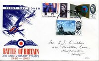 1965 Sg 673p & 677/8p (Phosphor Issue) Battle of Britain First Day Cover