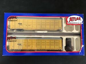 Atlas N-scale Articulated Auto Carrier Norfolk Southern, Weathered, IOB