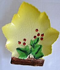 Vintage Carlton Ware Maple Leaf Plate with Currants Australian Design