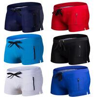 Men Swimming Trunks Bathing Swimsuit Beachwear Swimwear Swimming Shorts Boxers