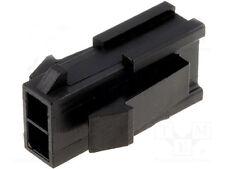 Molex 43020-0200 Micro-Fit 3.0 Male Housing Receptacle Plug 2 Position