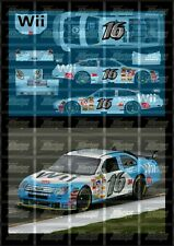 NASCAR 1/24 DECALS - 2007 CUP #16 GREG BIFFLE NINTENDO WII FORD COT