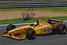 Martin Brundle Signed 8X12 Inches Jordan F1 Photo