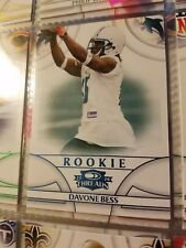 2008 Donruss Threads Retail Blue Dolphins Football Card #175 Davone Bess/350
