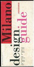 MILANO DESIGN GUIDE ABITARE 1989 ARCHITETTURA LOCALE LOMBARDIA