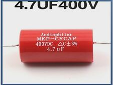 CONDENSATORI AUDIOPHILER MKP 4,7uF 400V 3% POLIPROPILENE METALLIZZATO AUDIO
