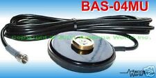 """Magnetic Magnet Based Mount Antenna NMO Motorola Base 3.25"""" SMA and 15 FT cable"""