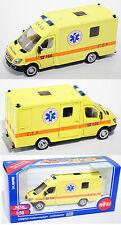 SIKU 2108 00901 Mercedes Sprinter II 213 CDI ambulance Ambulance 1:50 Neuf Dans Sa Boîte