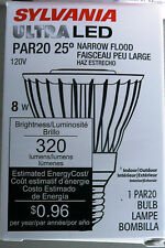 Sylvania 78653, LED8PAR20/DIM/827/NFL25 Narrow Flood Ultra LED Bulb