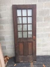 Cm 109 Antique 29 And Three-Quarter Inch By 77 Inch High Entrance Door