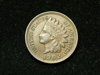 SUMMER SALE!! XF 1902 INDIAN HEAD CENT PENNY w/ DIAMONDS & FULL LIBERTY #89s