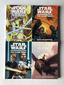 Star Wars Clone Wars Paperback TPB/Graphic Novel Lot Dark Horse Shipyards Doom