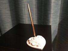 Off white guest book pen - Lillian Rose - gold pen